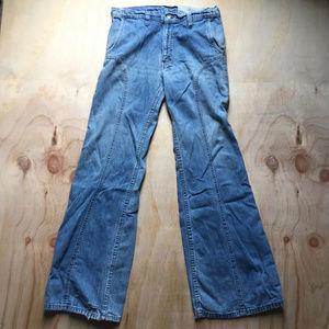 70s Levi's Jeans Rough & Worn Vintage UNISEX 31x33
